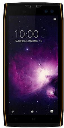 Смартфон Doogee S50 черный оранжевый 5.7 64 Гб LTE Wi-Fi GPS 3G смартфон nokia 5 ds медный 5 2 16 гб lte wi fi gps
