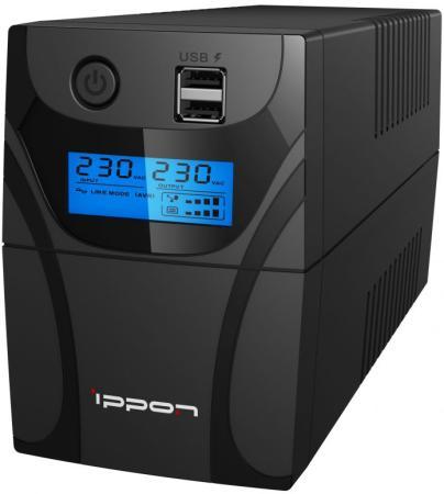 Источник бесперебойного питания Ippon Back Power Pro II 800 480Вт 800ВА черный patriot srge 3500