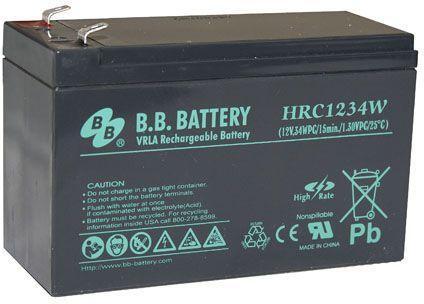 Батарея для ИБП BB HRC 1234W 12В 9Ач батарея для ибп apc rbc24 12в 9ач для su1400rm2u