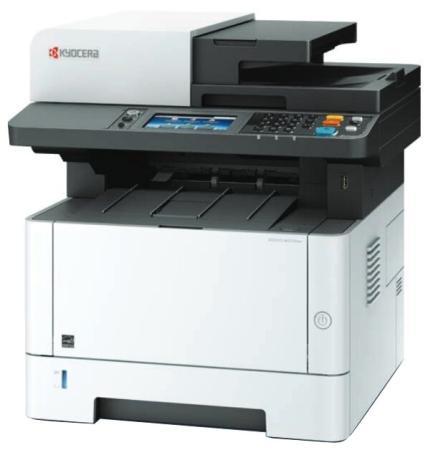 Многофункциональное устройство KYOCERA Лазерный копир-принтер-сканер-факс Kyocera M2835dw (А4, 35 ppm, 1200dpi, 512Mb, USB, Network, Wi-Fi, touch panel, автоподатчик, тонер) продажа только с доп. тонером TK-1200