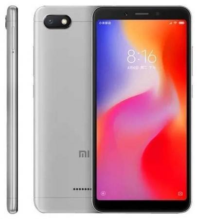 Смартфон Xiaomi Redmi 6A черный 5.45 32 Гб LTE Wi-Fi GPS 3G Bluetooth смартфон zte blade v8 черный 5 2 64 гб lte wi fi gps 3g bladev8black