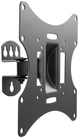 Кронштейн для телевизора Ultramounts UM 858 черный 23-42 макс.30кг настенный поворот и наклон кронштейн ultramounts um 888s для свч 30кг серебристый