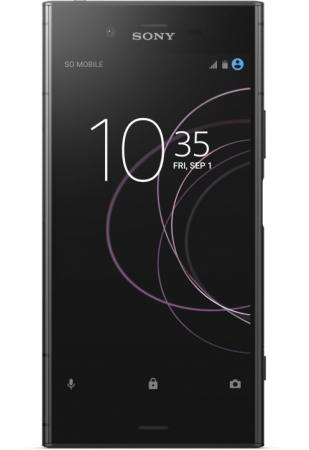 Смартфон SONY Xperia XZ1 Dual черный 5.2 64 Гб NFC LTE Wi-Fi GPS 3G G8342Blk смартфон nokia 7 plus черный 6 64 гб nfc lte wi fi gps 3g