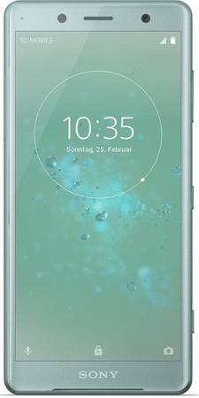 Смартфон SONY Xperia XZ2 Compact зеленый 5 64 Гб NFC LTE Wi-Fi GPS 3G H8324 смартфон nokia 7 plus черный 6 64 гб nfc lte wi fi gps 3g