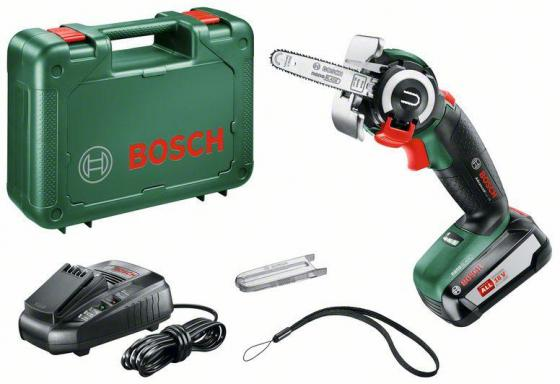 Электрическая цепная пила Bosch AdvancedCut 18 Set дл.шин.:10 (25cm) электрическая пила bosch easycut 50 06033c8020