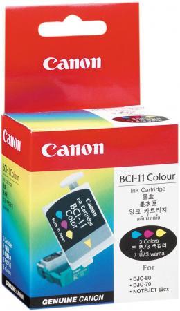Купить Картридж CANON BCI-11 color (BJC-50/70-80) 3шт/уп