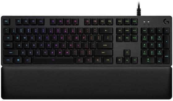 Клавиатура проводная Logitech G513 GX Blue Click USB черный 920-008933