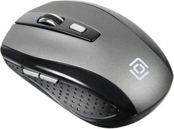 Фото - Мышь беспроводная Oklick 635MB серый чёрный Bluetooth мышь trust siano bluetooth wireless беспроводная цвет черный серый