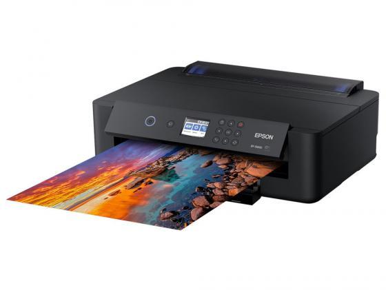 Принтер струйный Epson Expression Photo HD XP-15000 (C11CG43402) A3 Net WiFi USB RJ-45 черный принтер струйный epson expression photo hd xp 15000 c11cg43402 a3 net wifi usb rj 45 черный