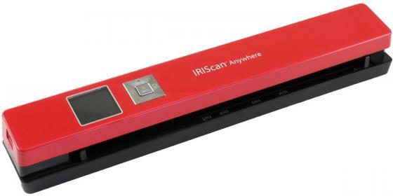 Сканер IRIS IRIScan Anywhere 5 Red (красный) сумка холодильник iris barcelona summer цвет красный