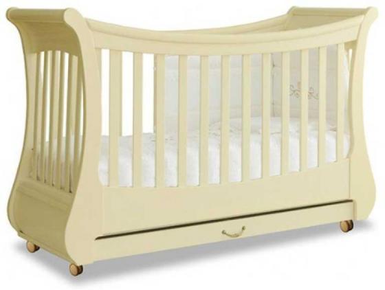 Кроватка Pali Tulip Baby (античная слоновая кость) кроватка с маятниковым механизмом укачивания pali capriccio 125x65 см античная слоновая кость