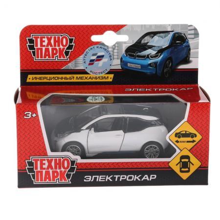 Автомобиль Технопарк ЭЛЕКТРОКАР белый X600-H09225-R игрушка технопарк электрокар x600 h09225 r