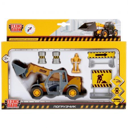 Погрузчик Технопарк ПОГРУЗЧИК желтый SB-17-76WB игрушка технопарк трамвай sb 13 01 2t