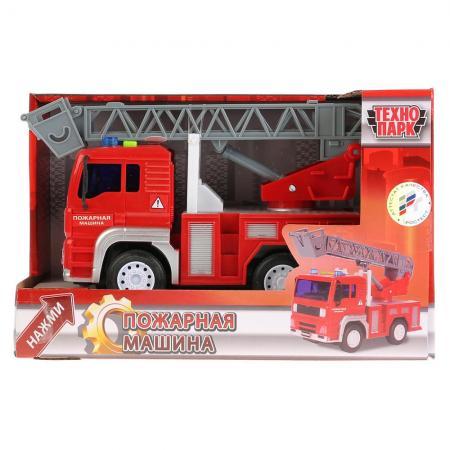 Пожарная машина Технопарк ПОЖАРНАЯ МАШИНА красный WY550B (36) игрушка технопарк пожарная машина 251a1 r