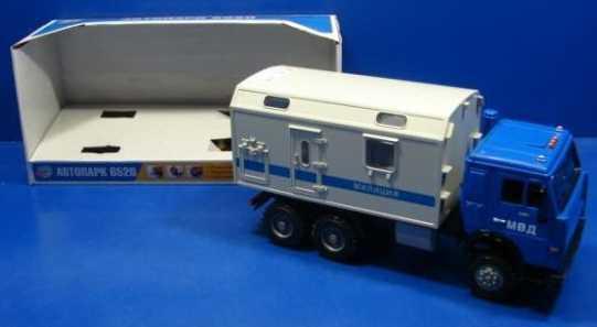 Грузовик Play Smart ГРУЗОВИК МИЛИЦИЯ синий A532-H36015 grimm s грузовик мини синий с 1 года
