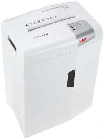 Шредер HSM ShredStar X10-4.5x30 (секр.P-4)/фрагменты/10лист./21лтр./скрепки/скобы/пл.карты/CD shredstar x10 4x30 мм белый