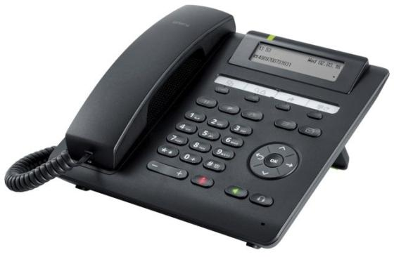 Телефон IP Unify OpenScape CP205 черный (L30250-F600-C432) телефон ip siemens unify openscape cp200 l30250 f600 c426