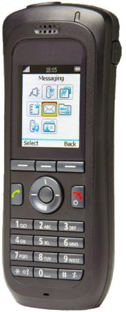 цена на Трубка Unify OpenStage WL3 черный (L30250-F600-C310)