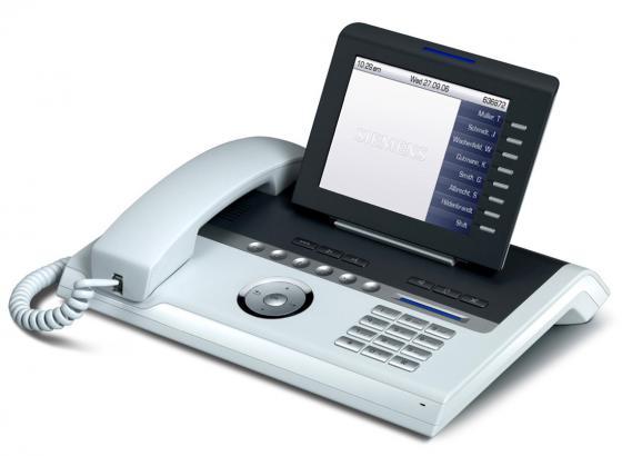 Телефон IP Unify OpenStage 60 T белый (L30250-F600-C112) телефон supra stl 111 белый