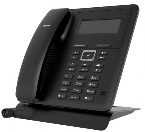 Фото - Телефон IP Gigaset MAXWELL BASIC черный проводной и dect телефон foreign products vtech ds6671 3