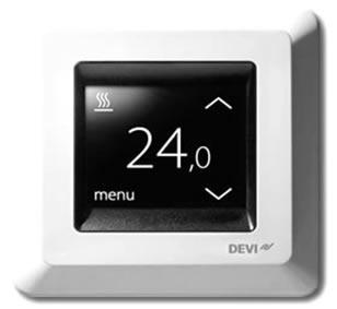 140F1064 Терморегулятор DEVIreg Touch терморегулятор devi devireg touch white 140f1064