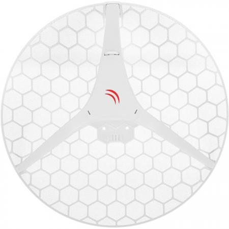 Радиоустройство MikroTik RBLHGG-5ACD-XL 802.11an 600Mbps 5 ГГц 1xLAN LAN белый шлюз voip grandstream ht801 1xfxs 1xlan 10 100мб с