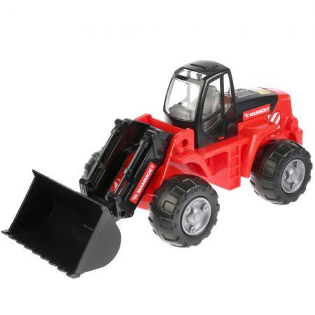Трактор-погрузчик ПОЛЕСЬЕ MAMMOET красный 56788