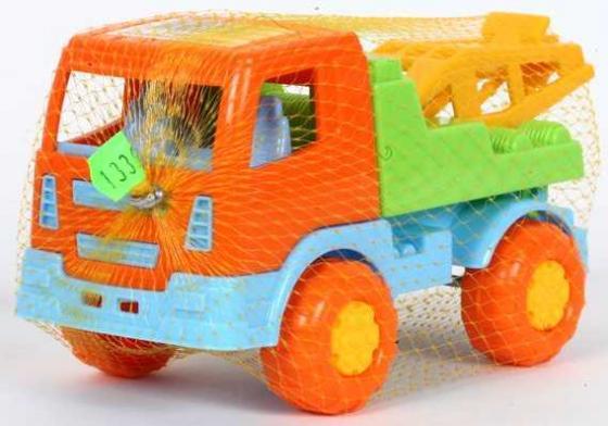 Эвакуатор Полесье ТЕМА разноцветный 3277 автомобиль эвакуатор полесье леон 52872 оранжевая кабина