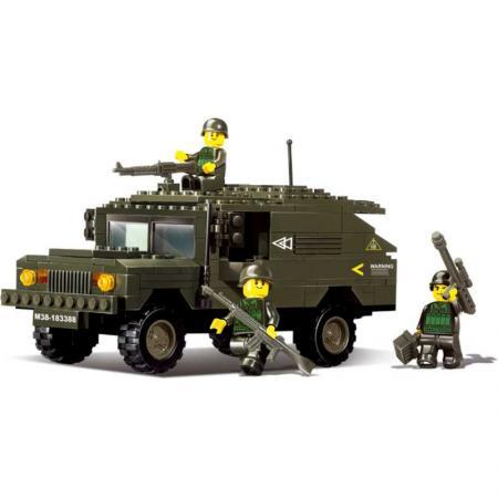 Конструктор SLUBAN Хаммер сухопутных войск 191 элемент M38-B9900 телефон хаммер