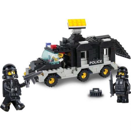 Конструктор SLUBAN Транспортное средство команды 206 элементов M38-B1900 цена