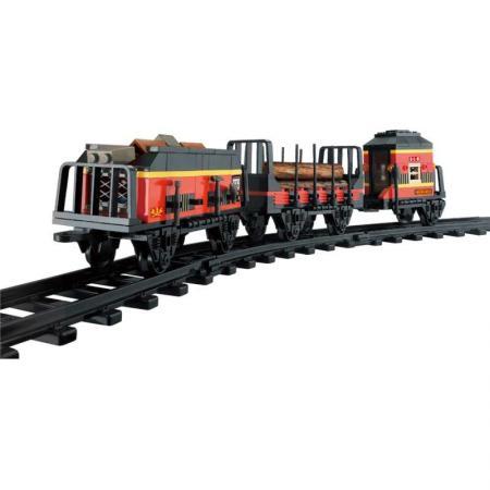 цены на Конструктор SLUBAN Вагоны для поезда 225 элементов