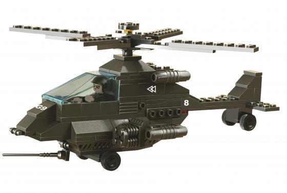 Конструктор SLUBAN Вертолет АПАЧИ 158 элементов M38-B6200
