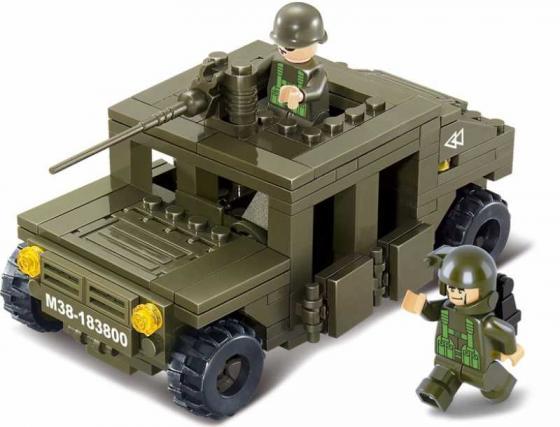 Конструктор SLUBAN Land 2 Forces - Военный автомобиль 175 элементов M38-B0297 конструктор sluban land 2 forces военный автомобиль 175 элементов m38 b0297