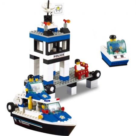 Конструктор SLUBAN Морская полиция 206 элементов M38-B1200 цена 2017