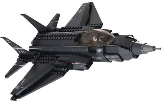 Конструктор SLUBAN Истребитель 252 элемента M38-B0510 sluban m38 b0296