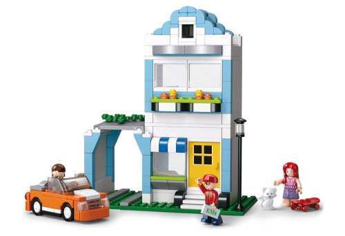 Конструктор SLUBAN Дом с машиной 305 элементов M38-B0572 конструктор sluban дом с машиной 305 элементов m38 b0572
