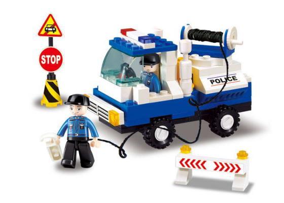 Купить Конструктор SLUBAN Полицейский эвакуатор 94 элемента M38-B900, Детские конструкторы
