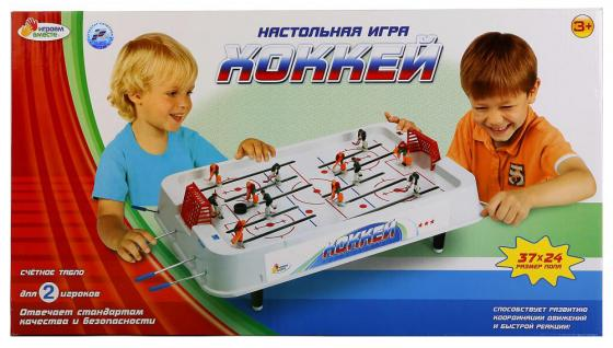 Настольная игра хоккей ИГРАЕМ ВМЕСТЕ A553-H30006-R настольные игры играем вместе игра настольная футбол