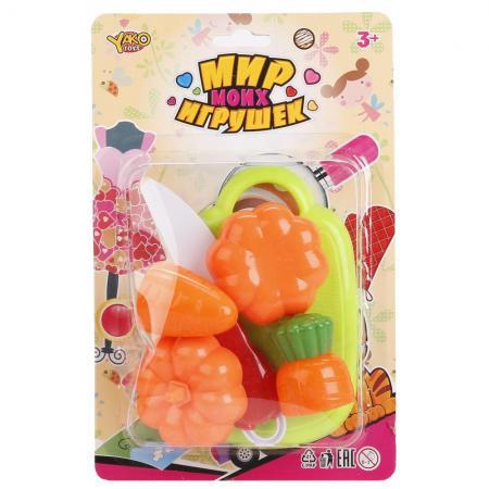 Набор овощей YAKO TOYS TOYS Мир моих игрушек YTM6024-1 рубашка top secret top secret mp002xm12axi