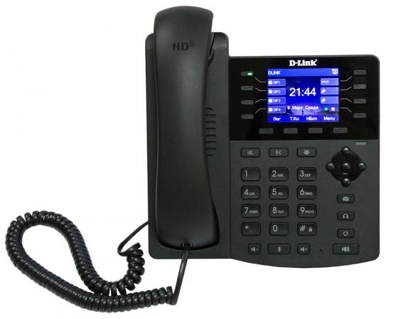 Телефон ip D-Link VoIP Phone with PoE support (colour display) poe voip телефон d link dph 400se f4a