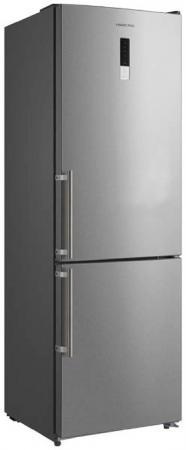 Холодильник HIBERG RFC-302DX серебристый холодильник hiberg rfq 490dx nfxq