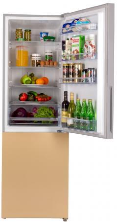 Холодильник HIBERG RFC-311DX NFGY золотистый холодильник hiberg rfq 490dx nfxq