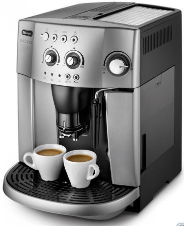 Кофемашина Delonghi ESAM 4200S 1450Вт серебристый