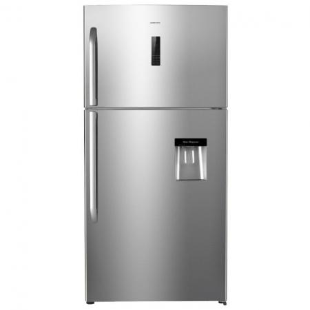 Холодильник HIBERG RFT-72DK NFX серебристый цена