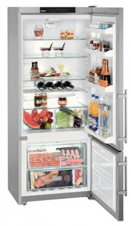 Холодильник Liebherr CNPesf 4613-20001 серебристый двухкамерный холодильник liebherr cnpesf 5156 20