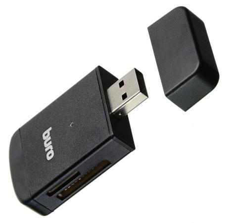 Устройство чтения карт памяти USB2.0 Buro BU-CR-3103 черный устройство чтения карт памяти buro usb2 0 bu cr 3101 черный