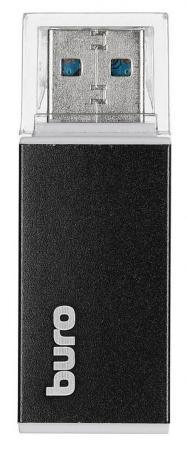 Устройство чтения карт памяти USB2.0 Buro BU-CR-3104 черный устройство чтения карт памяти buro usb2 0 bu cr 3101 черный