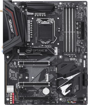 Материнская плата GigaByte Z370 AORUS ULTRA GAMING 2.0-OP Socket 1151 Z370 4xDDR4 3xPCI-E 16x 3xPCI-E 1x 6 ATX Retail