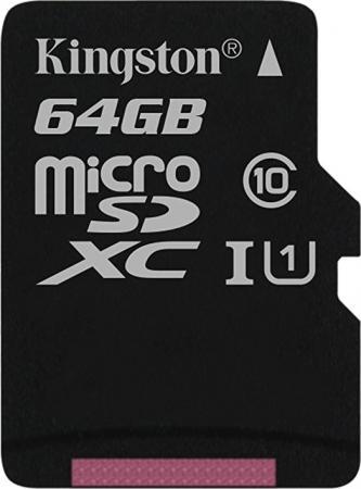 Флеш карта SDXC 64Gb Class10 Kingston SDS/64GB Canvas Select w/o adapter карта памяти sdxc 64gb class10 kingston sdg 64gb canvas go w o adapter