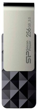 Флеш Диск Silicon Power 256Gb Blaze B30 SP256GBUF3B30V1K USB3.0 черный/серый